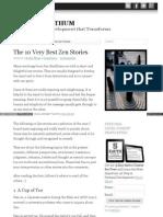 10 Very Best Zen Stories