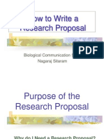 Refer3 Why Research Proposal