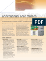 Conventional Core Studies