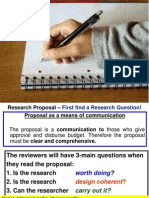 TVM Lecture Research Proposal