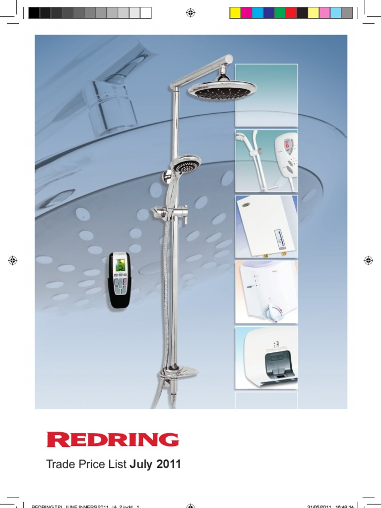 redring_trade_prices2011.pdf | Water Heating | Plumbing