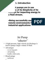 Student Jet pump