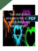 Proverbs 20.11