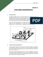 proyecciones axonometricas