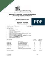 COM540 2006_PFC140_exam