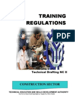 TRAINING REGULATIONS-Training Regulations- Amended Tr Technical Drafting Nc II