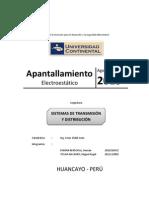 Monografia de Apantallamiento electroestático