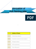 Optimization of Hull Painting Jobs