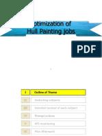 Optimization of Hull Painting Jobs