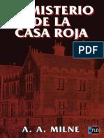 El Misterio de La Casa Roja - A. a. Milne