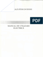Manual partea Electrica
