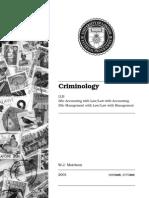 Criminology - Clean