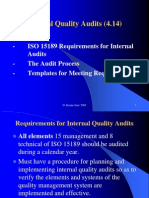 Internal Quality Audits (IQA) - English (23 Pages)