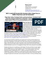 SEC's Leadership Needed After Nasdaq's Glitch, Edgar Perez to CNBCs Kelly Evans and Carl Quintanilla