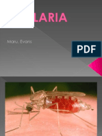 Malaria disease, its diagnosis and cure.