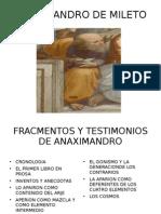 ANAXIMANDRO DE MILETO