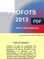 PROFOTS 2013