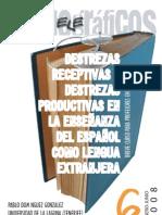 Destrezas Receptivas y Destrezas Productivas Pablo Dominguez. Campus Virtual