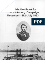 Staff Ride Handbook for the Vicksburg Campaign December 1862-July 1863