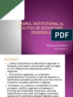 5.Cadrul Institutional (Bejan Alexandrina Ects Anul II)