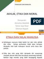 Akhlak Moral Dan Etika