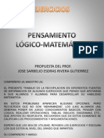 Pensamiento Matematico en Power Point 3