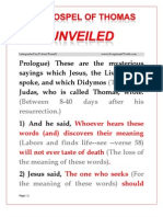 The Gospel of Thomas (Interpreted)