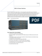 Cisco Catalyst 3560 v2 Series Switches Data Sheet