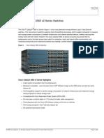 Cisco Catalyst 3560 v2 Series Switches Data Sheet