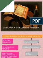 La Novela en el Renacimiento