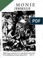 Marin Mersenne - L'Harmonie Universelle - Oeuvre Complete