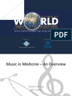 Music in Medicine – An Overview