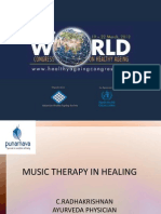 MUSIC THERAPY IN HEALING