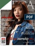 Mega Magazine Philippines Resume by Celine Duran