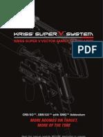 Kriss Super v CRB So SBR SO Manual