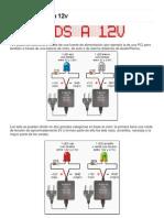 Conectar LEDs a 12v