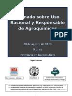 JORNADA USO RACIONAL DE FITOSANITARIOS - ROJAS - PCIA BS AS