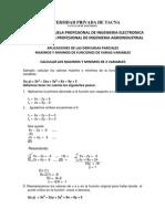Maximos y Minimos de Funciones de Varias Variables