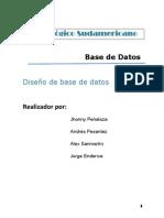 Informe de Base de Datos