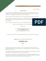 Criminal Law Bar Exam 2010 Questions