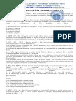 15 Exercicio de Administrativo - Conceito de Adm Publica
