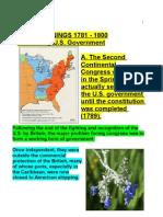 U.S. History 1781-1800 2005 ab