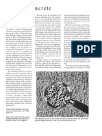 Cellular Concrete Article