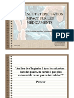Cours Ifsi Hygiene Et Sterilisation m Chaussard