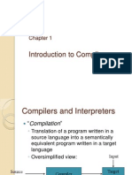 1 - Introduction to Compilers
