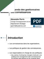 L'Agenda Des CKO - AIMS 2007