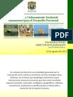 22-08-2013 Pyot Para El Desarrollo Provincial