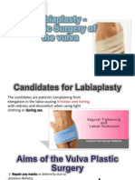 Labiaplasty - Plastic Surgery of the Vulva