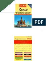 Langue Russe Berlitz Guide de Conversation Et Lexique Pour Le Voyage (+Vocabulaire