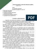 tema 9 Tema 9. Impozitele – forma principală a resurselor financiare publice